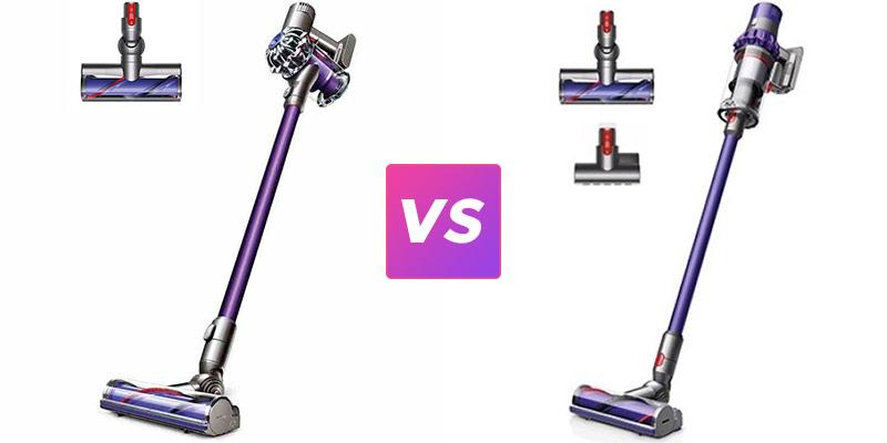 dyson cyclone v10 animal vs v8 animal stick vacuums. Black Bedroom Furniture Sets. Home Design Ideas